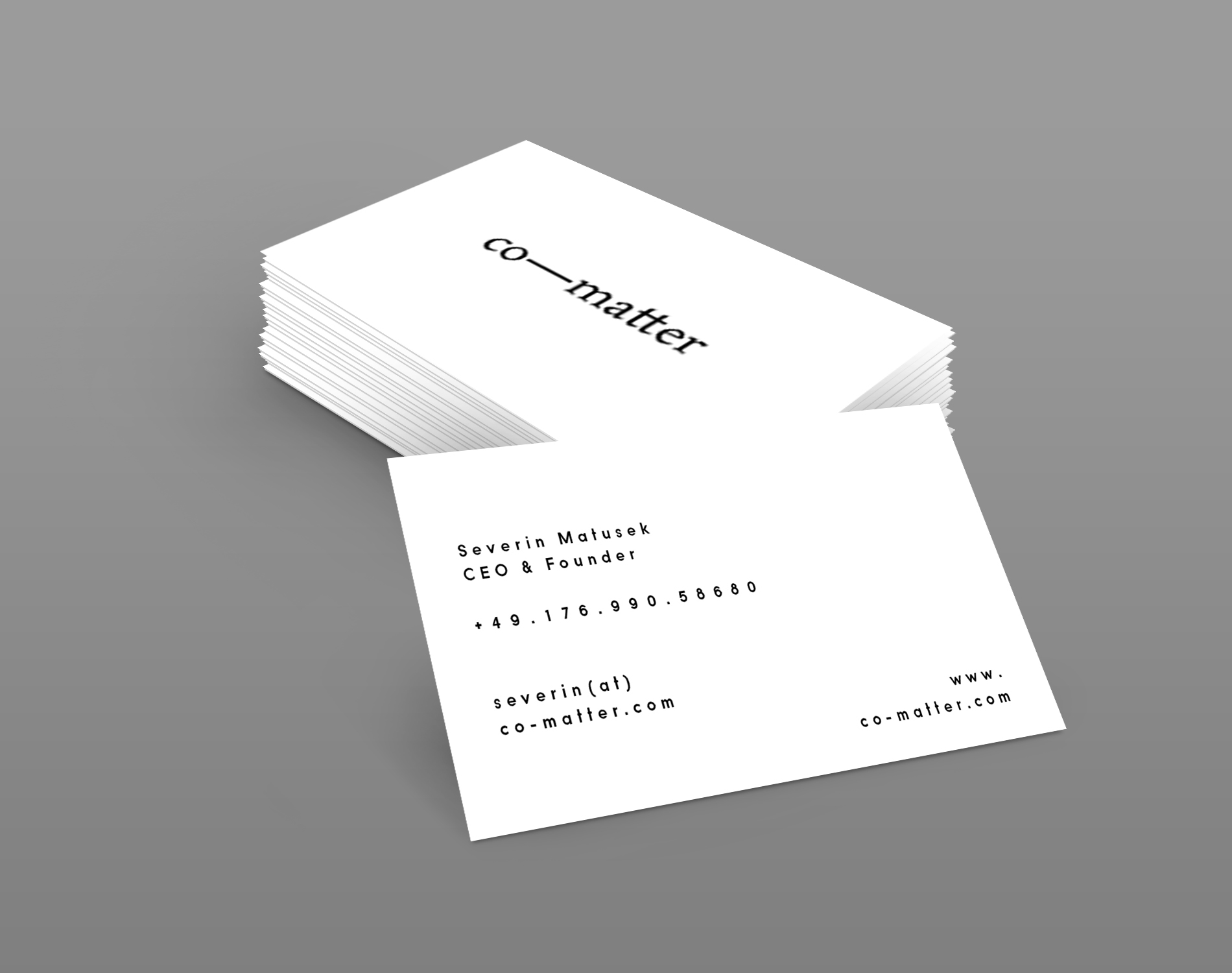co-matter_business_card